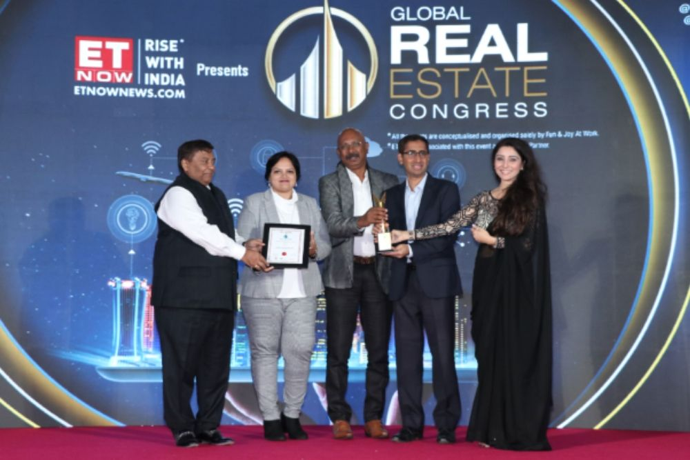 REAL ESTATE Awards 2020 By ET Now